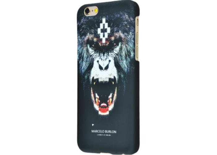 Чехол для iPhone 6/6s Marcelo Burlon Soft Touch №4