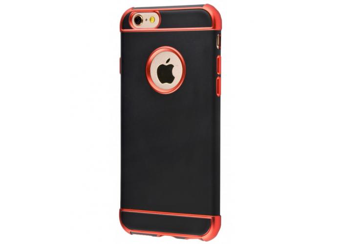 Пластиковый чехол для iPhone 6/6s Chrome Colore Red (красный)