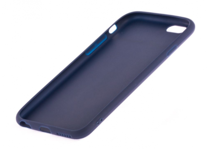 Чехол для iPhone 6/6s Soft matt темно синий