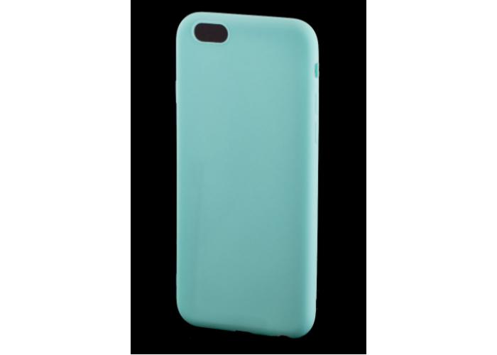 Чехол для iPhone 6/6s Soft matt бирюзовый