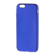 Чехол для iPhone 6/6s Soft matt синий