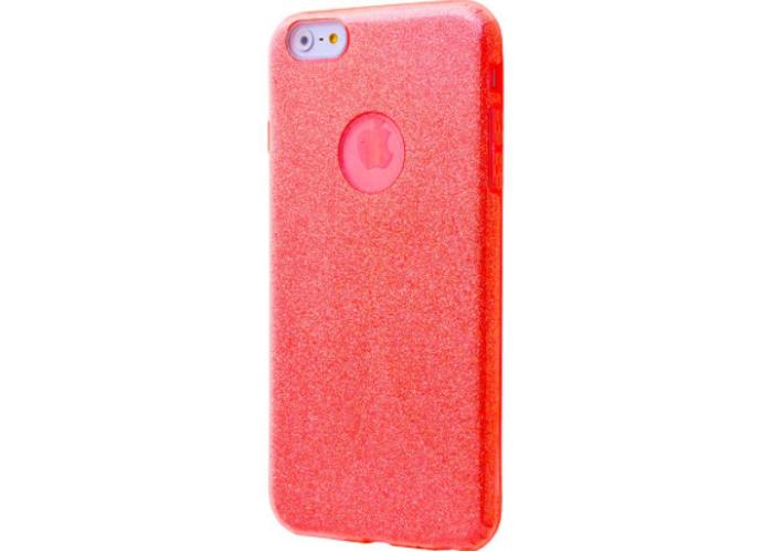 Чехол для iPhone 6/6s Shining Glitter Case с блестками красный