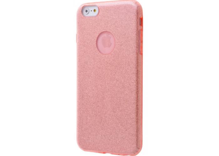 Чехол для iPhone 6/6s Shining Glitter Case с блестками розовый