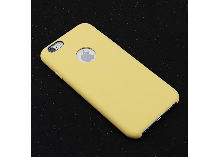 Чехол со встроенной магнитной пластиной для автодержателя Totu Magnet Force (желтый)