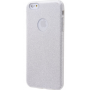 Чехол для iPhone 6/6s Shining Glitter Case с блестками серебро