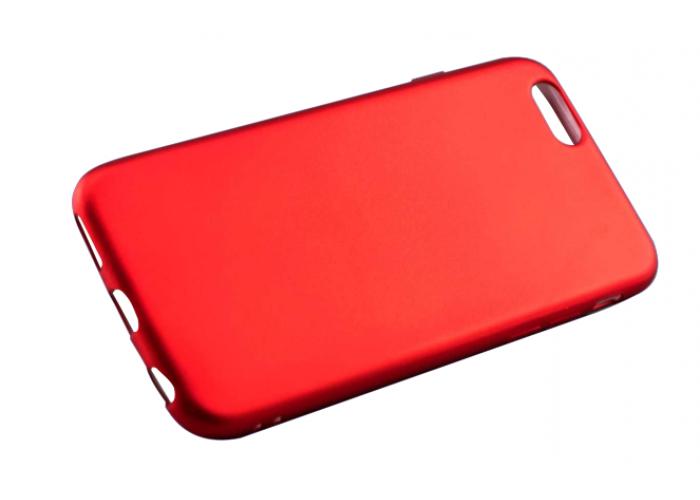 Чехол для iPhone 6/6s Soft matt красный