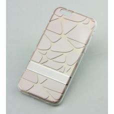 Чехол для iPhone 6/6s Goospery 3D золото