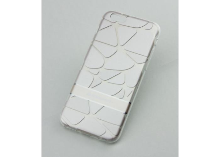 Чехол для iPhone 6/6s Goospery 3D светло серый
