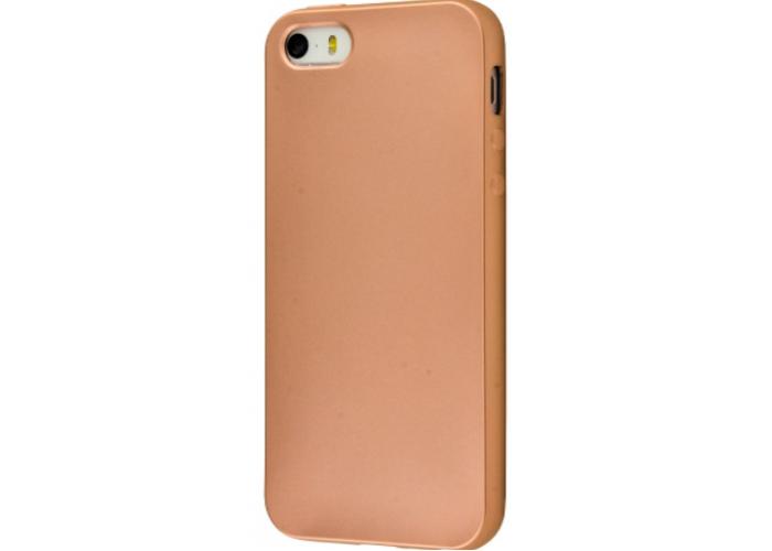 Чехол для iPhone 6/6s Soft matt золотой