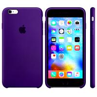 Силиконовый чехол Apple Silicon Case Ultra Violet для iPhone 6 Plus/6s Plus (копия)
