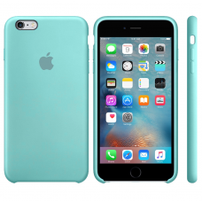 Apple Silicone Case sea blue iPhone 6 plus/ 6s plus купить Киев Украина - apple iPhone 6 plus silicon case
