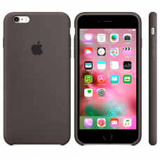 Apple Silicone Case dark brown iPhone 6 plus/ 6s plus купить Киев Украина - apple iPhone 6 plus silicon case