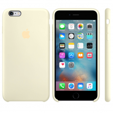 Apple Silicone Case antique white iPhone 6 plus/ 6s plus купить Киев Украина - apple iPhone 6 plus silicon case