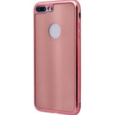 Чехол для iPhone 6/6s TPU Glossy Stripe розовый
