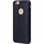Чехол для iPhone 6/6s TPU Glossy Stripe черный