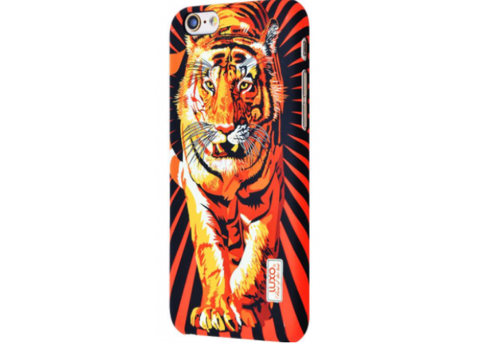 Чехол для iPhone 6/6s Luxo Face neon TPU №9