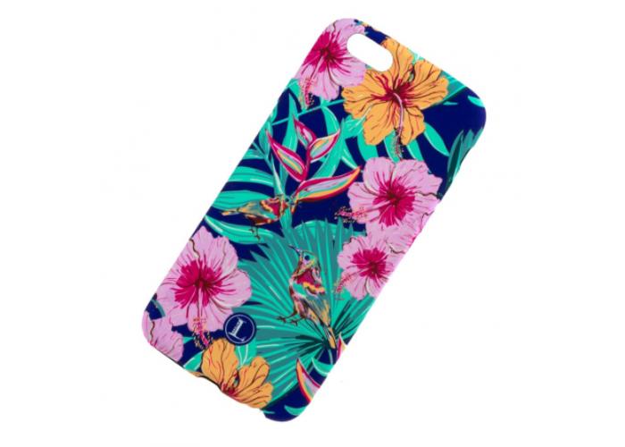 Чехол для iPhone 6/6s Luxo Face neon TPU №18