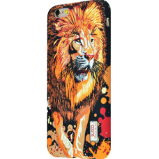Чехол для iPhone 6/6s Luxo Face neon TPU №2