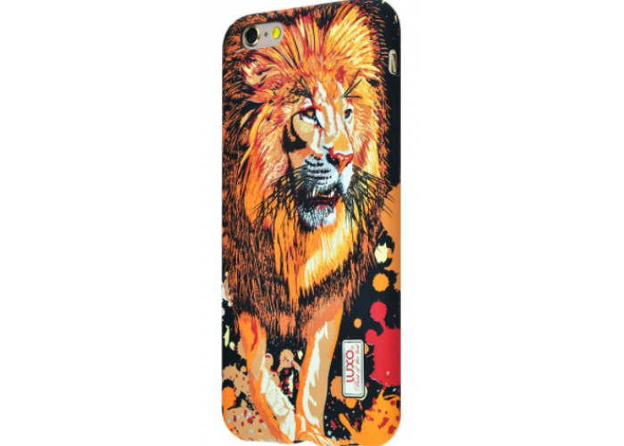Чехол для iPhone 6/6s Luxo Face neon TPU №2