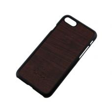 Чехол для iPhone 6/6s Soft Touch под дерево темно коричневый