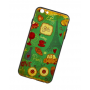 Чехол для iPhone 6/6s 3D Sparcle Premium Print (Soft Touch) Love