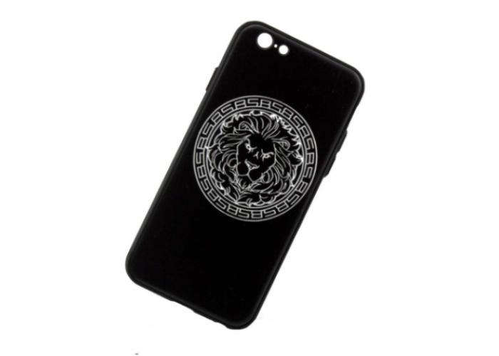 Чехол для iPhone 6/6s 3D Sparcle Premium Print (Soft Touch) черный