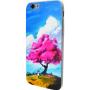 Чехол для iPhone 6/6s Акварель дерево