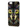 Чехол для iPhone 6/6s Luxo Face neon TPU №20
