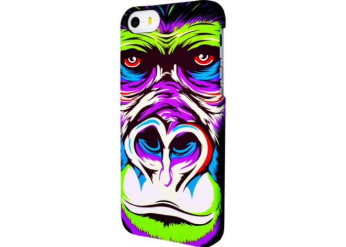 Чехол для iPhone 6/6s Luxo Face neon new №1