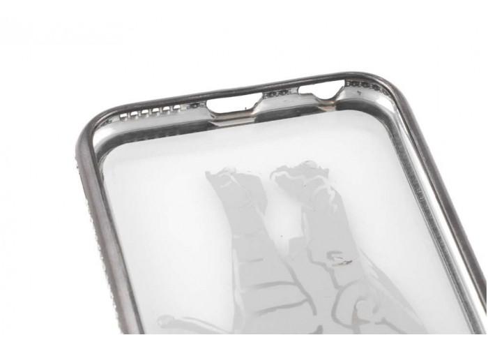 Чехол для iPhone 6/6s Kingxbar Diamond Слон серый