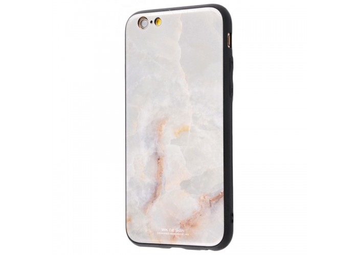 Чехол для iPhone 6/6s White Knight Pictures Glass мрамор (16)