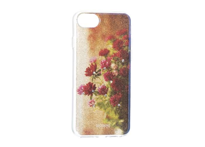 Чехол для iPhone 6/6s/7/8 Beckberg Gold Series цветы