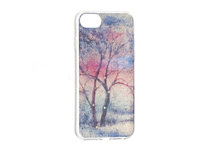 Чехол для iPhone 6/6s/7/8 Beckberg Gold Series зима