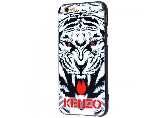 Чехол для iPhone 6/6s Kenzo рык тигра