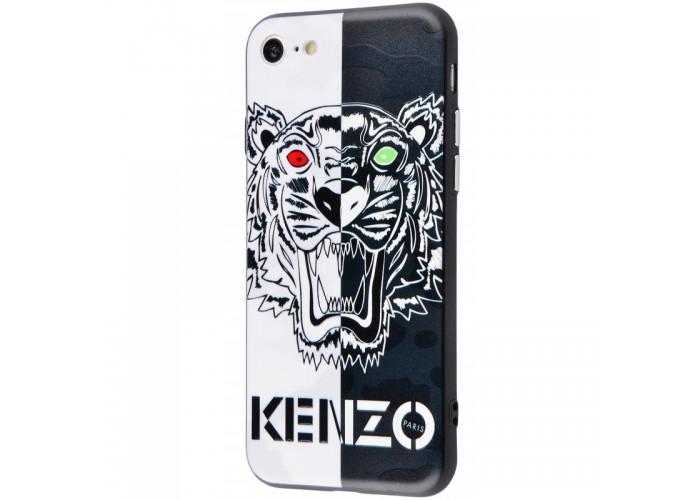 Чехол для iPhone 6/6s Kenzo черно-белый тигр