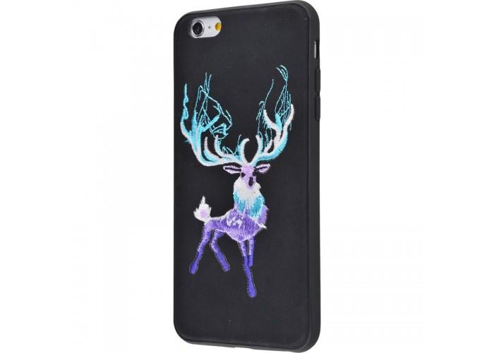 Чехол для iPhone 6/6s Embroider Animals Soft олень