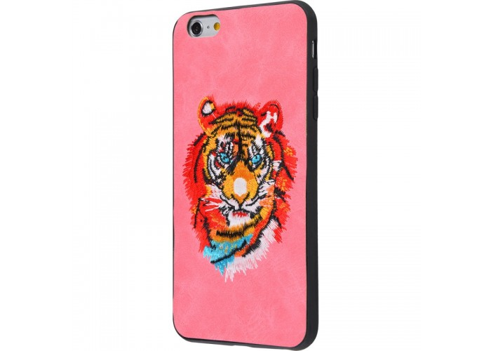 Чехол для iPhone 6/6s Embroider Animals Soft тигр