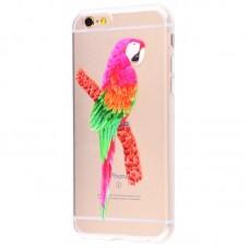 Чехол для iPhone 6/6s попугай
