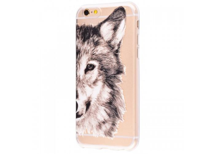 Чехол для iPhone 6/6s wolf
