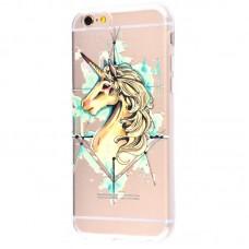 Чехол для iPhone 6/6s unicorn