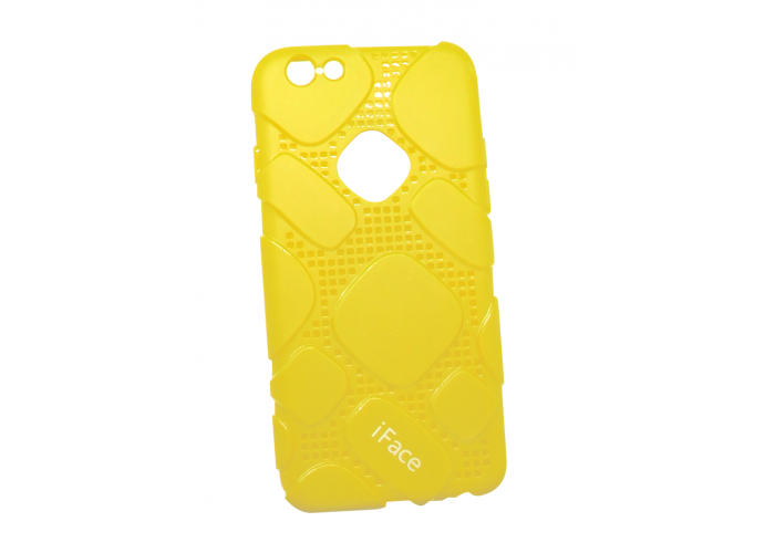 Чехол для iPhone 6/6s iFace Classic Design yellow