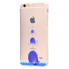 Чехол для iPhone 6/6s whales (киты)
