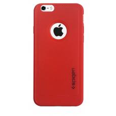 Силиконовый чехол для iPhone 6/6s Spigen Red (красный)