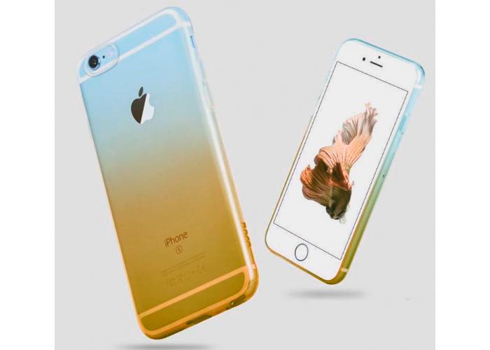 Силиконовый чехол для iPhone 6/6s Gradient Yellow (желтый)