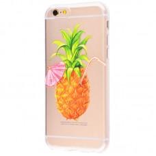 Чехол для iPhone 6/6s Pineapple (ананас)