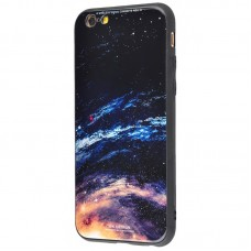 Чехол для iPhone 6/6s White Knight Pictures Glass galaxy