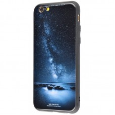 Чехол для iPhone 6/6s White Knight Pictures Glass star sky