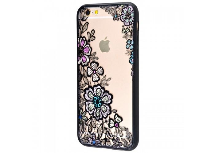 Чехол для iPhone 6/6s Luoya Flowers №3