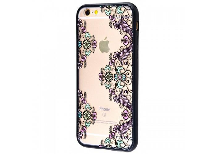 Чехол для iPhone 6/6s Luoya Flowers №4