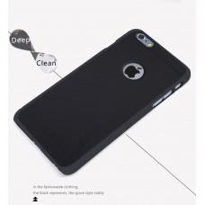 Чехол для iPhone 6/6s Nillkin Super Frosted Black (черный)